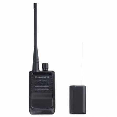 Pasiklausymo blakė radijo dažniu veikimo nuotolis apie 50 m