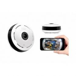 Vaizdo stebėjimo kamera 360° stebėjimas gyvai internetu