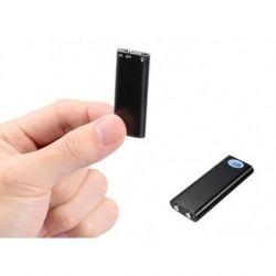 Mini diktofonas aukštos kokybės garso įrašai 192 kbps