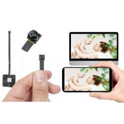 Full HD mini kamera lengvai maskuojama su aušinimu WiFi