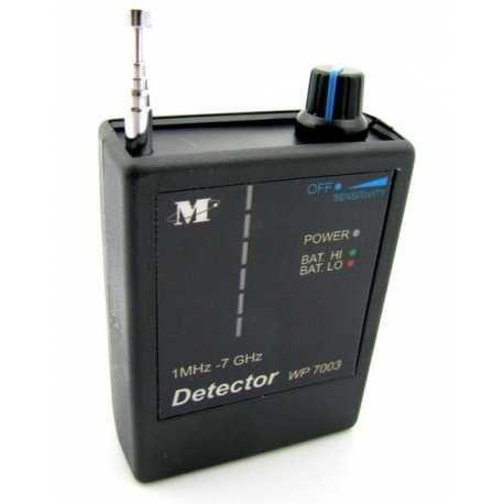 Šnipinėjimo įrangos detektorius GPS GSM RADIO ir GPS signalų