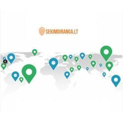 Nemokamas GPS seklio sukonfguravimas + ONLINE stebėjimui serveris