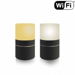Šviestuvas LED su įmontuota slapta kamera Wi FI Naktinis matymas