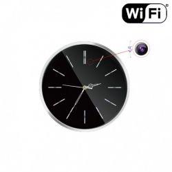 Sieninis laikrodis su Slapta kamera Wi fi |gyvai stebėkite internetu |