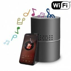 Slapta kamera garso kolonėlė | Naktinis matymas| Wi Fi | Judėsio aptikimas|
