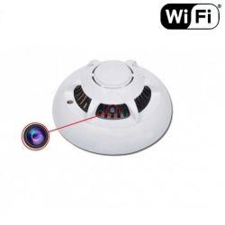 Slapta kamera dūmų detektorius su WI fi