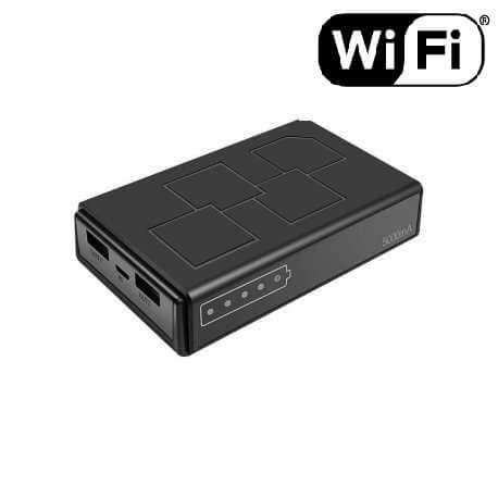 Powerbank 5000Mah su įmontuota slapta kamera Wi fi